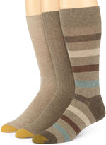 Gold Toe 3-pk. Dress Stripe Socks