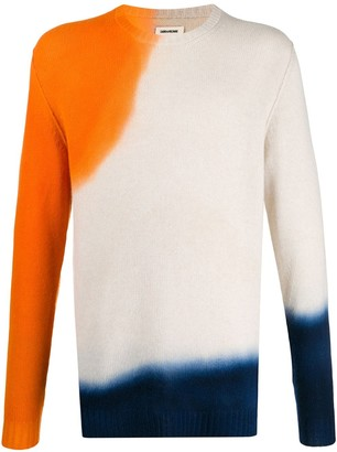 Zadig & Voltaire Bensti tie-dye cashmere jumper