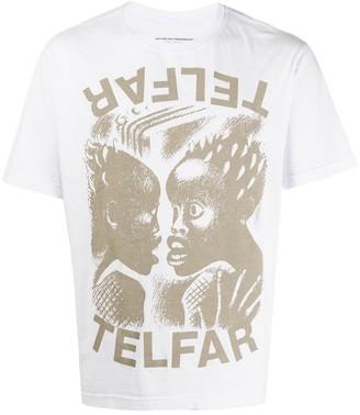 Telfar graphic print short-sleeved T-shirt