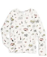 Little Marc Jacobs 'All Over Fancy' Print Top (Toddler Girls, Little Girls & Big Girls)