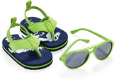 Carter's Dino Sunglasses and Flip Flips Set - Baby Boys 3m-12m