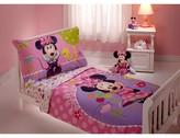 Disney Minnie Mouse Toddler 4 Piece Bed Set Multicolor