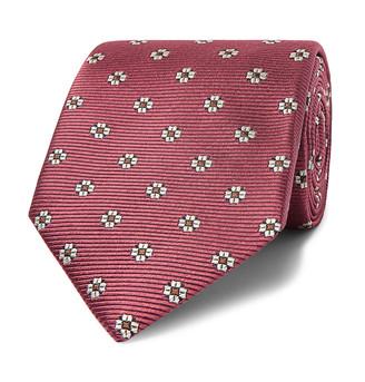 Drakes 8cm Paisley Silk-Jacquard Tie