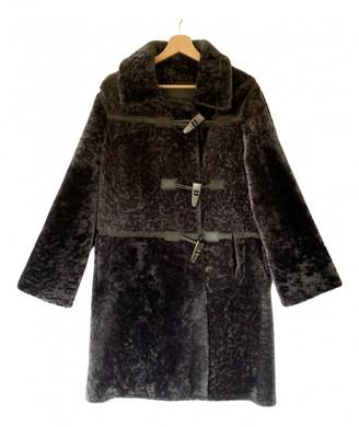 Sylvie Schimmel Grey Shearling Coats