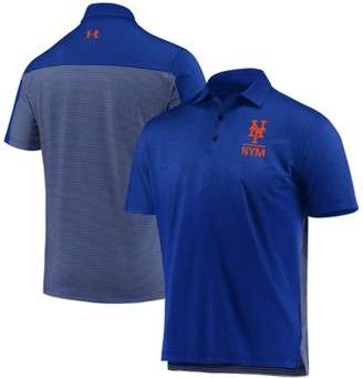 Men's Under Armour Royal New York Mets Novelty Performance Polo