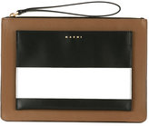 Marni Trunk clutch bag - women - Calf Leather - One Size