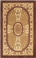 Momeni Elizabeth Hand-Carved Wool Rectangular Rug