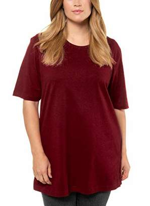 Ulla Popken Women's Nmmolaf Gentry Bathrobe Wdi T-Shirt,(Size: 58+)