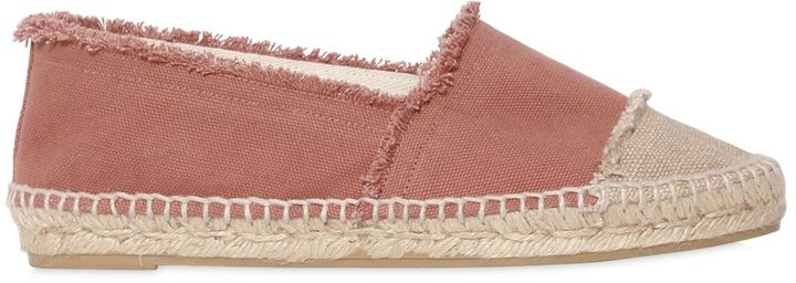 Castaner 10mm Fringed Canvas Espadrilles