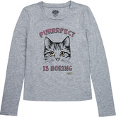 Juicy Couture Cat-print jersey t-shirt 4-14 years
