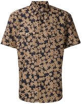 Julien David woven floral shirt