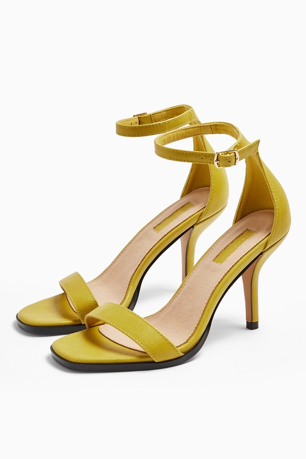 Topshop SAGE Curve Mid Sandals