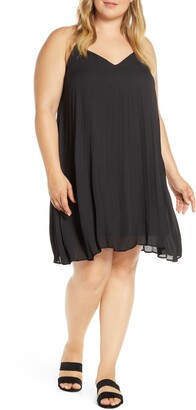 Gibson Pleated Mini Dress