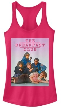 Fifth Sun Breakfast Club Group Pose Faded Background Ideal Racer Back Tank