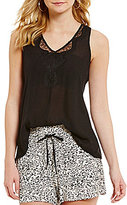 Jessica Simpson Serene Split Back Tank Top