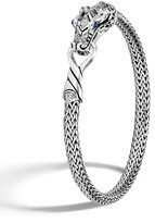John Hardy Legends Naga Bracelet w/ Diamonds