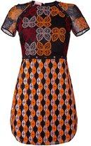 Giamba embroidered dress - women - Polyester - 44