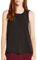 BCBGeneration Sleeveless Hidden-Placket Top