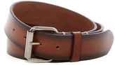 Bill Adler Distressed Leather Belt