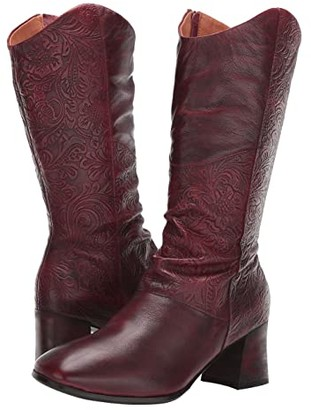 Spring Step L'Artiste by Lillya (Bordeaux) Women's Boots