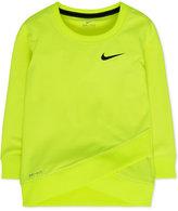 Nike Layered-Hem Sport Top, Toddler & Little Girls (2T-6X)
