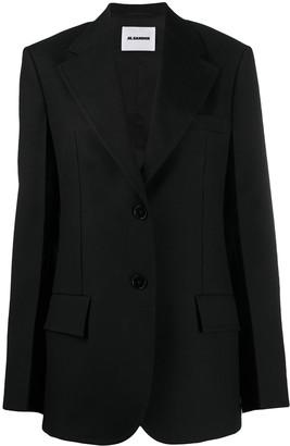 Jil Sander Single-Breasted Wool Blazer