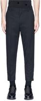 McQ 'Doherty' zip cuff virgin wool pants
