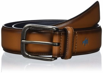 Original Penguin Men's Dress Casual Leather Belt