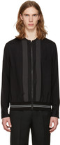 Lanvin Black Zip Front Shirt