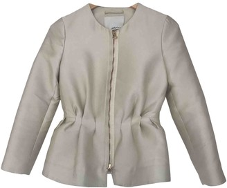 3.1 Phillip Lim Ecru Silk Jacket for Women