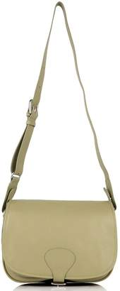 Richmond David Hampton Leather Sophie Saddle Bag In Sage Green