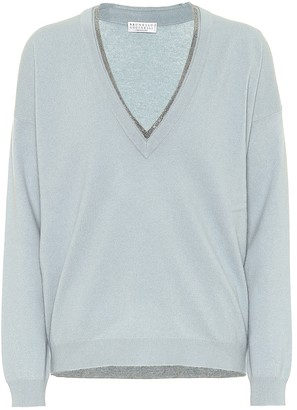 Brunello Cucinelli Wool, cashmere and silk sweater