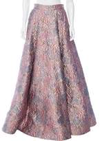 Badgley Mischka Brocade Evening Skirt