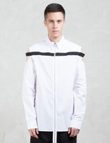 Hood by Air Cut Out Shoulder L/S Shirt