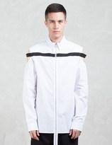 Hood by Air Cut Out Shoulder L/S Shirt