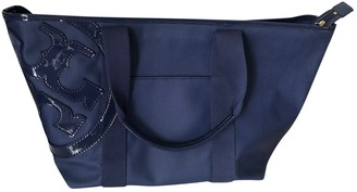 Tory Burch Blue Leather Travel bags