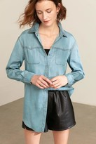 J.ING Dana Denim Button Up Shirt