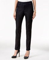 Charter Club Petite Tummy-Control Skinny Ankle Pants, Only at Macy's