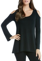 Karen Kane Cold Shoulder Top