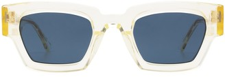 AHLEM Villette Gold Light Sunglasses