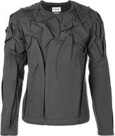 Rochas wrinkled sweatshirt