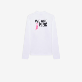 Balenciaga We Are Pink Long Sleeve T-shirt