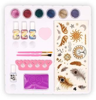 Fab Lab Glitter Tattoos & Sparkly Nails Mega Pack