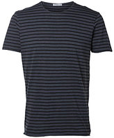 Selected Homme Monte Stripe Short Sleeve T-shirt