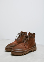 Marsèll tobacco lace-up boot