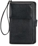 Mundi Black Phone Wristlet