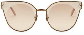 Bottega Veneta 62MM Cat Eye Sunglasses