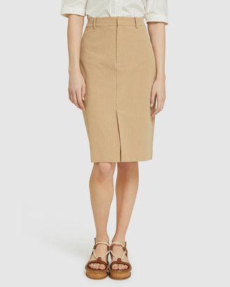 Oxford Women's Pencil skirts - Deana Cotton Pencil Skirt - Size One Size, 6 at The Iconic