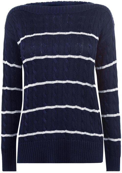Thumbnail for your product : Lauren Ralph Lauren Vedorah Long Sleeve Sweater