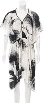 Sachin + Babi Chain-Accented Silk Dress